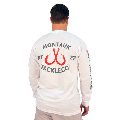 Montauk Tackle Classic Long Sleeve Tee Shirt - Montauk Tackle Company