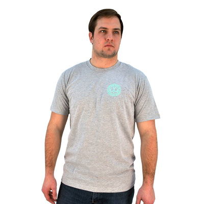 Montauk Tackle Circle Logo Graphic Cotton Tee Shirt - Montauk Tackle Company