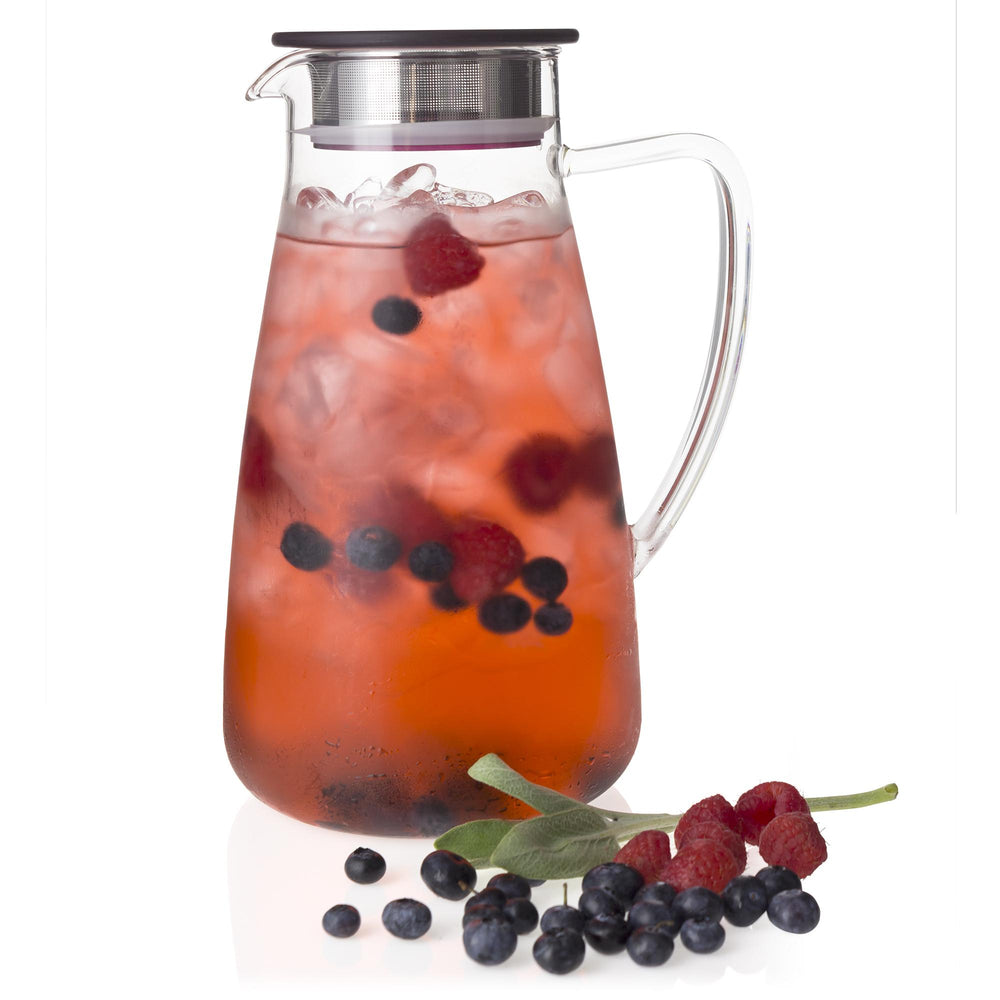 Flask Glass Ice Tea Jug 64 oz