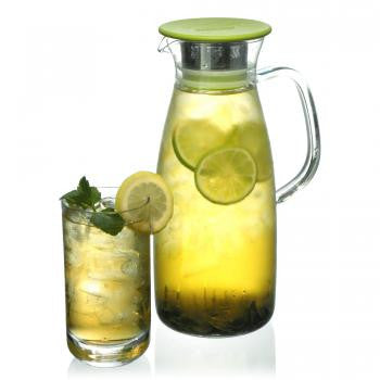 Mist Glass Ice Tea Jug