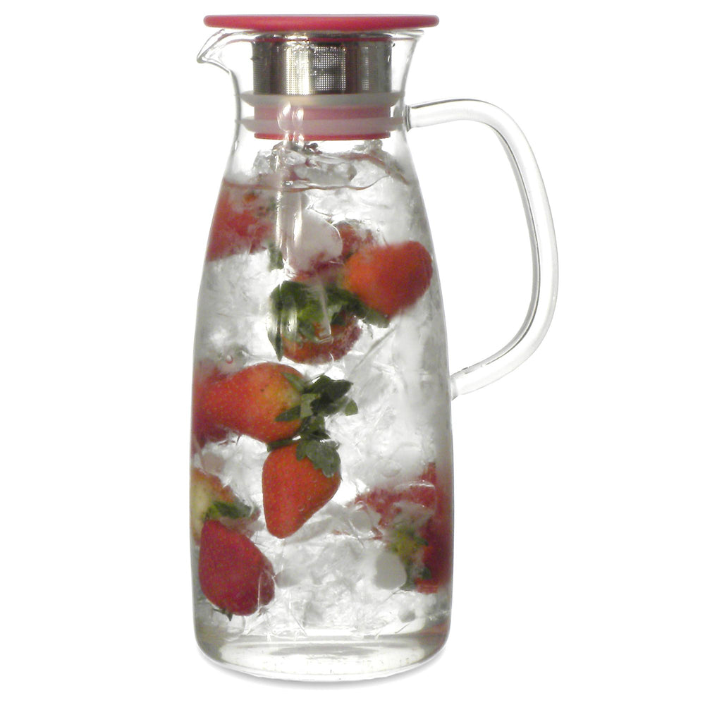 Mist Glass Ice Tea Jug 50 oz