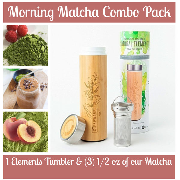 Morning Matcha Combo w/ Elements Tumbler