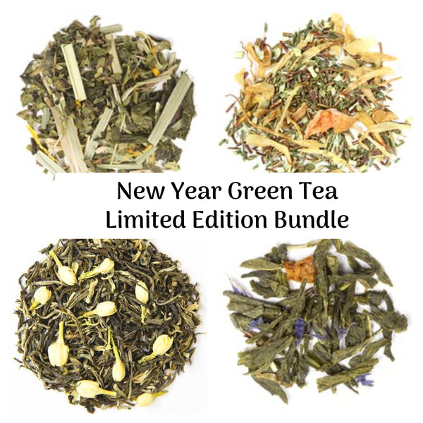 New Year Green Tea Try Me Size Bundle