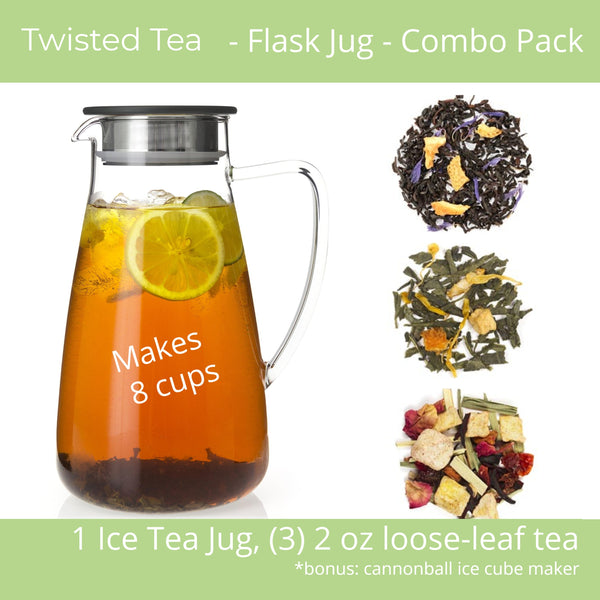 Twisted Tea - Flask Ice Tea Jug Combo Pack
