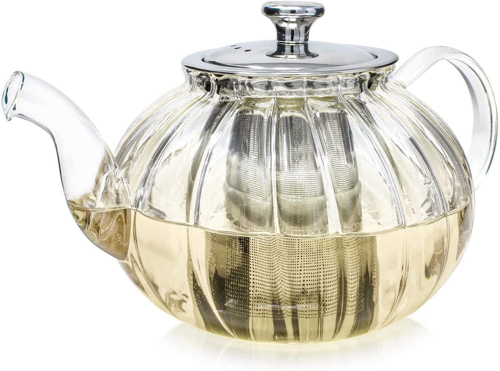 Deluxe Blooming & Loose- Leaf Tea with Vienna Teapot