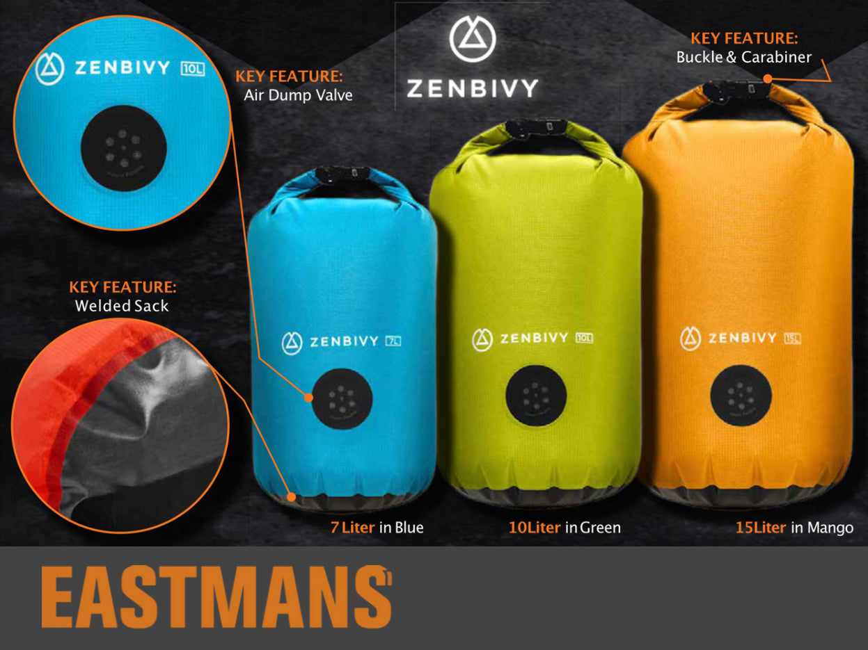 PRESS: Eastman's Hunting Journal reviews the Zenbivy Dry Sack