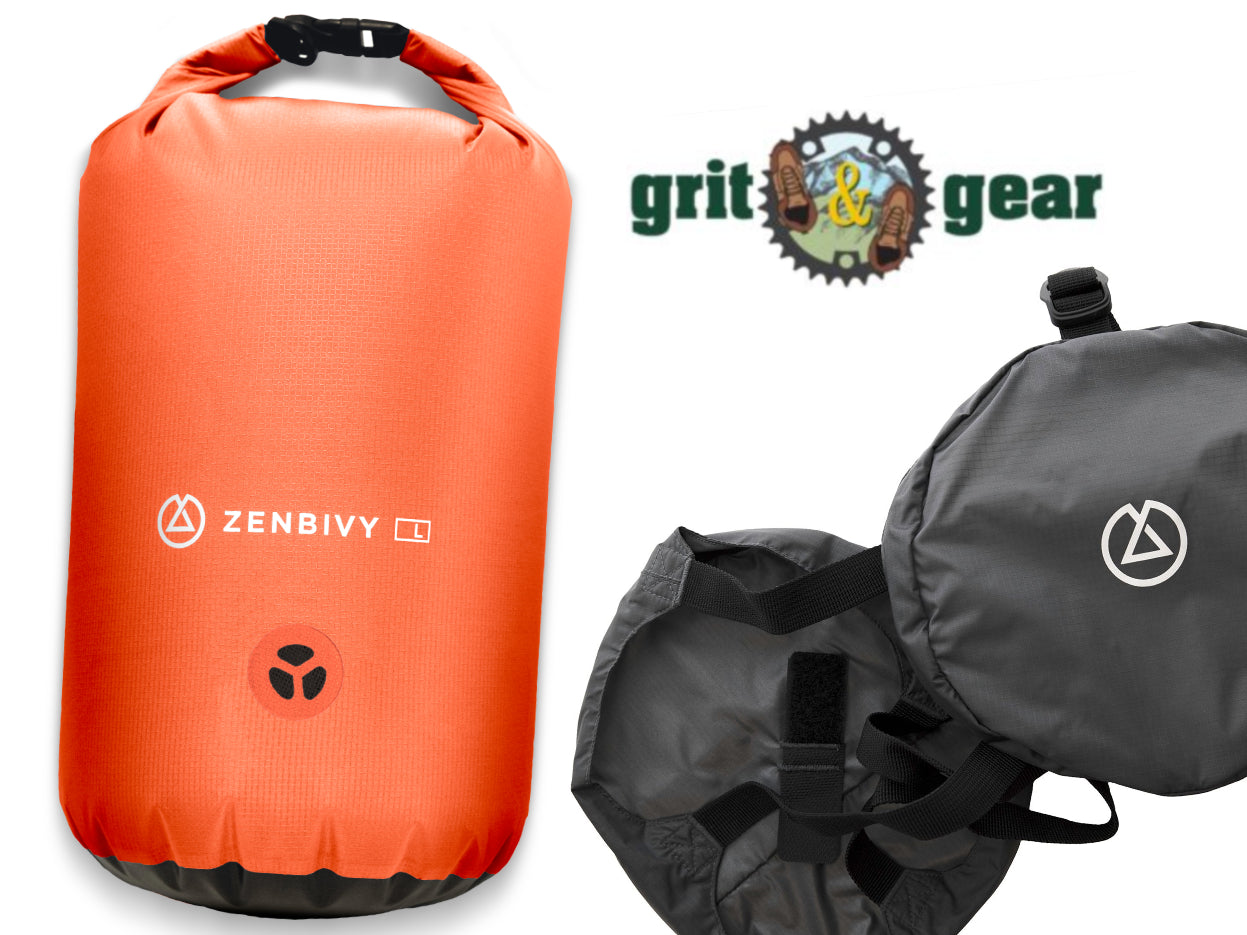 PRESS: Grit & Gear's Holiday Gift Guide includes Zenbivy Dry Sacks