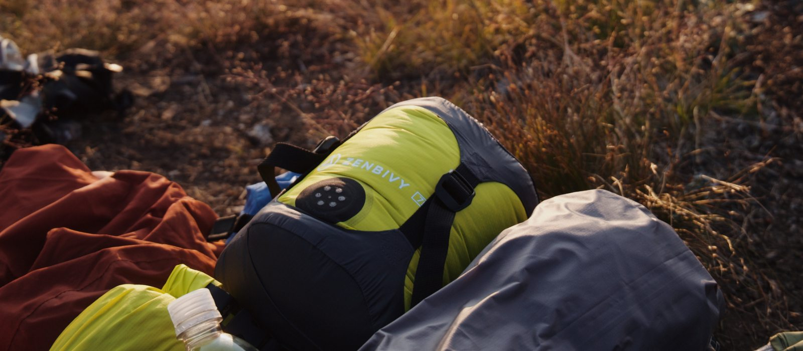 Our Dry Sacks are compression compatible, not all-in-one, which means you get to choose. Pair your Zenbivy Dry Sack with our Compression Caps to get an even smaller, more compact bundle for packing.
