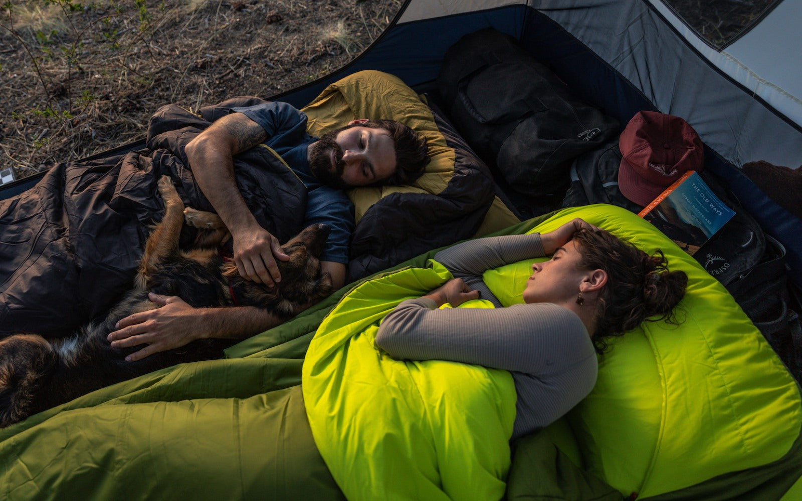 The Zenbivy MotoBed is an all-in-one luxury bed roll designed for car camping.