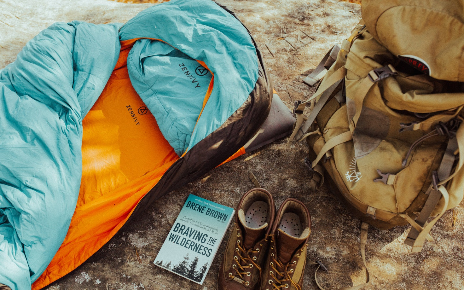 The Original Zenbivy Bed is the ultimate in backcountry comfort.