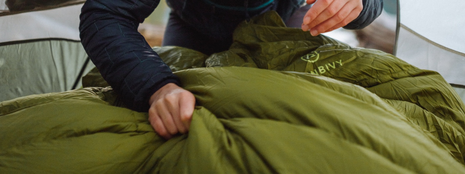 Conventional slippery, sticky, and tacky sleeping bag fabric didn't appeal to us... We wanted to elevate your camping experience and give you something better.