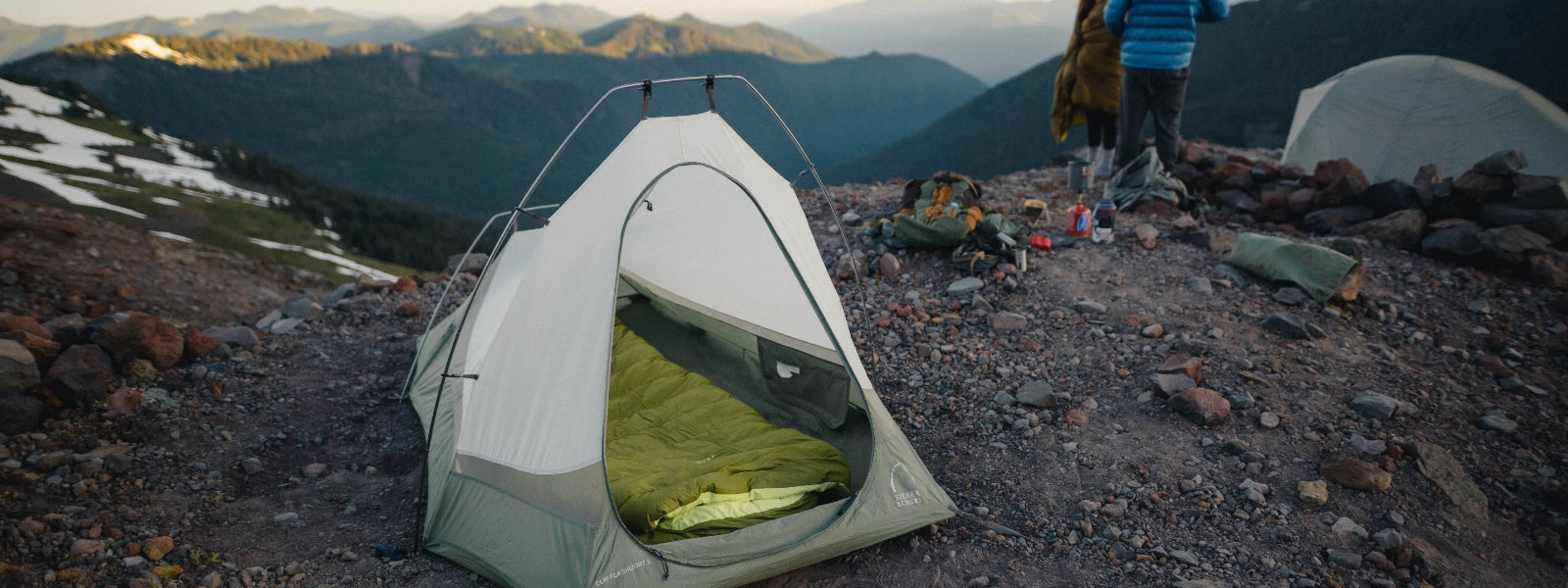 Our aim with the Light Bed was to give the backpacking community a lighter weight, more compact option without sacrificing the functionality, ease, and warmth of our original Zenbivy Bed.