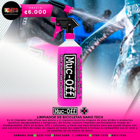 Muc-Off Nanotech Bike Cleaner