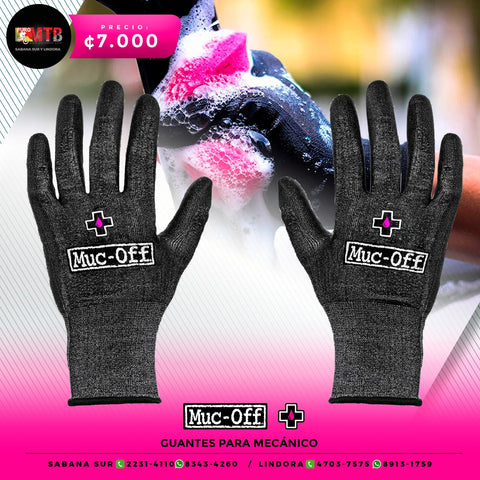 Muc-Off Guantes para mecánico