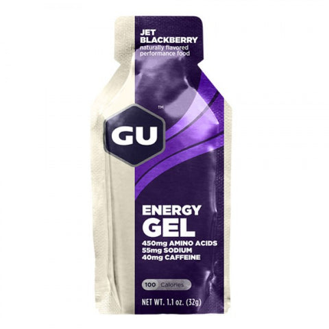 Gel GU JET BLACKBERRY Energy Gel