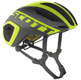 Casco ruta Scott Cadence Plus Negro/Amarillo