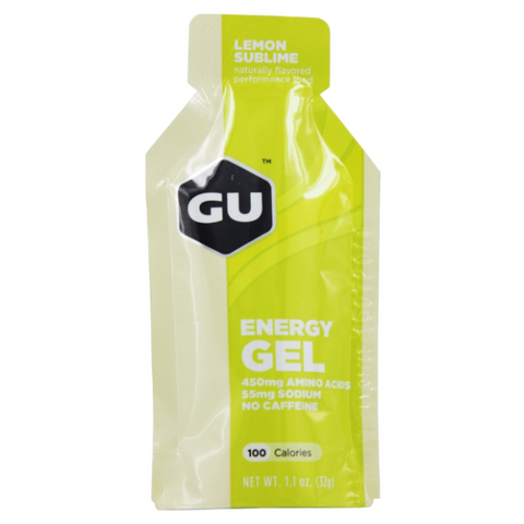 Gel GU LEMON SUBLIME Energy Gel