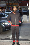 1HOAL BLACK/RED TRACKSUIT