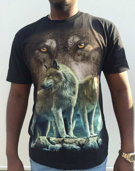 Wolf Pack Black T-shirt