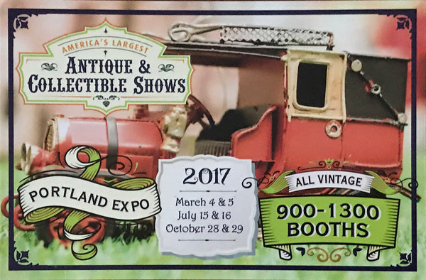 Visit us at the Antique & Collectible Show