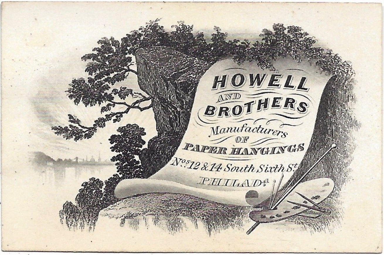1870s Howell & Bros Trade Card