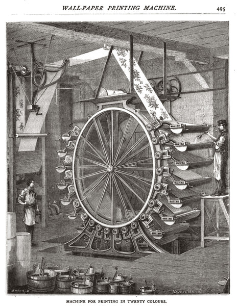 1878 (1873 original) 20-Color Printing Machine