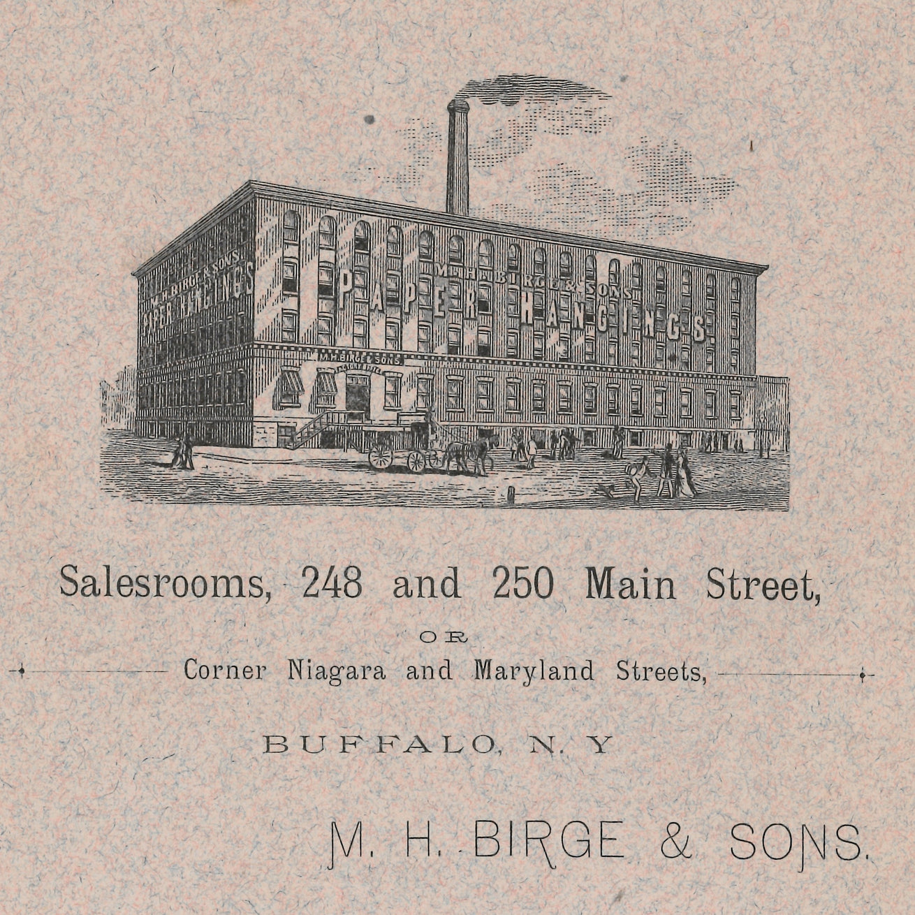 1884 Birge Factory View