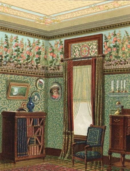 1885 A Morning Room