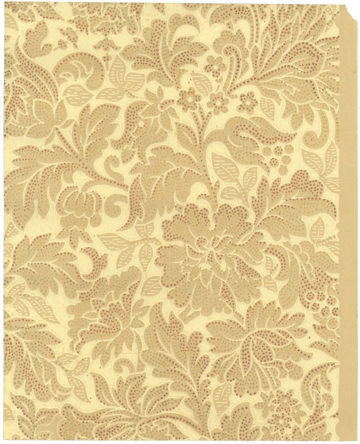1890s Wallpaper Advertising Sample