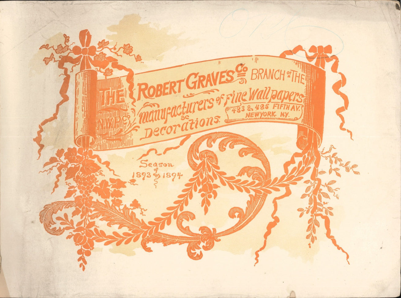 1893-1894 Season Robert Graves Co