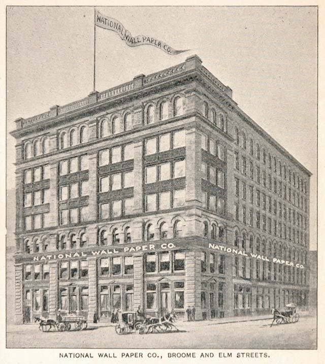1893 National Wall Paper Company Building