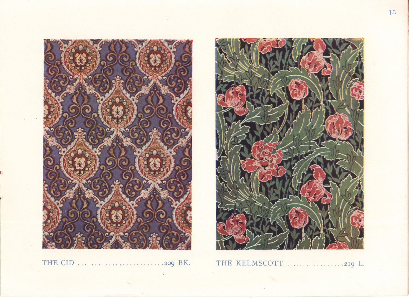 c.1901 Pittsburg Wall Paper Company