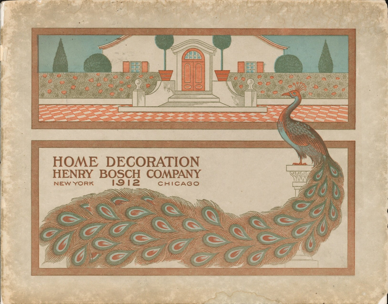 1912 Henry Bosch Modern Home Decoration