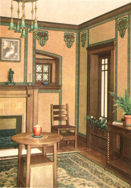 1913-14 Interior from Decorative Suggestions
