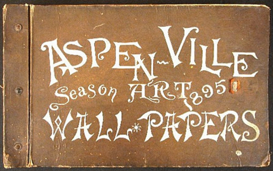 1895 Aspen-Ville Art Wall Papers, Jobber
