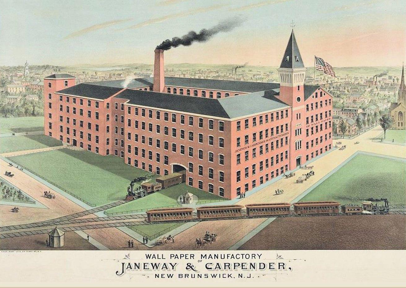 1870s Janeway & Carpender Factory, Library of Congress
