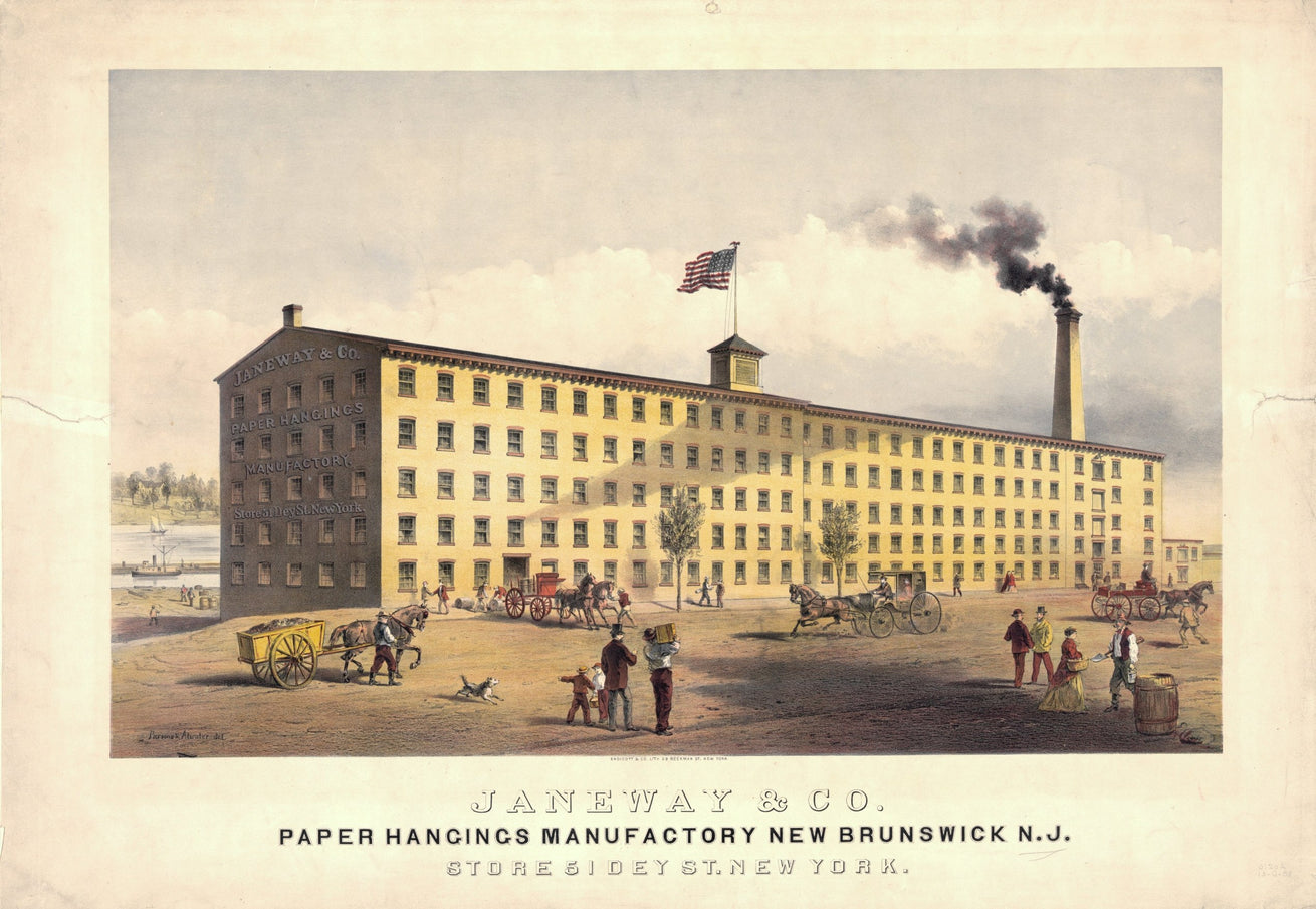 1870s Janeway & Company Factory, Library of Congress