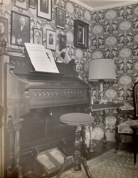 Corner with Pump Organ