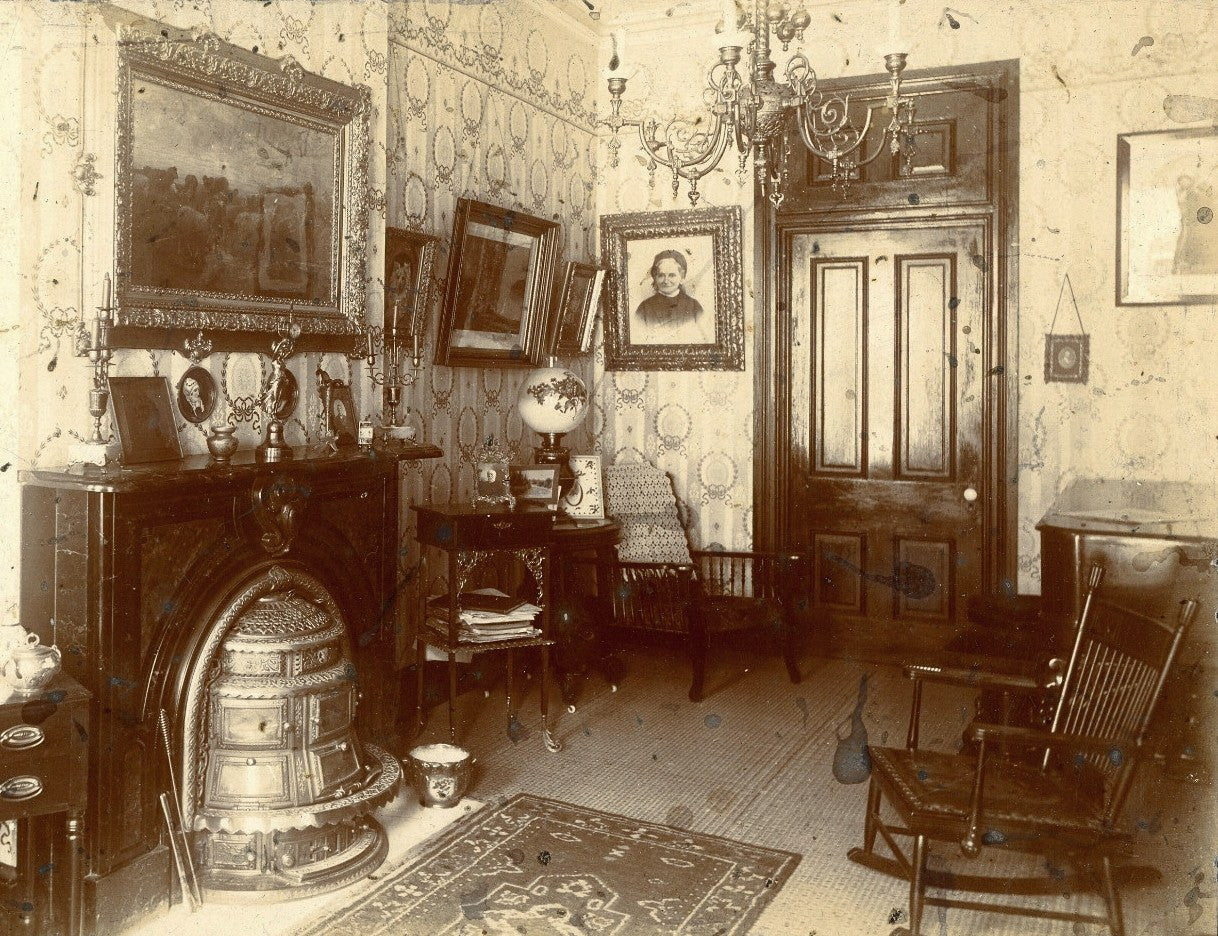 Empire Interior with Fireplace
