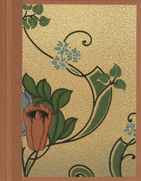 "Arts & Crafts Antique Wallpaper Journal - 8.5"" x 11"""