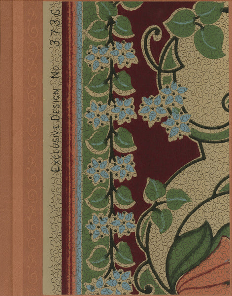 "Arts & Crafts Antique Wallpaper Journal - 7"" x 9"""