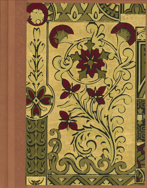 "Royal Aesthetic Antique Wallpaper Journal - 7"" x 9"""
