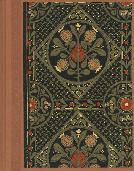 "Pomegranate Antique Wallpaper Journal - 8.5"" x 11"""