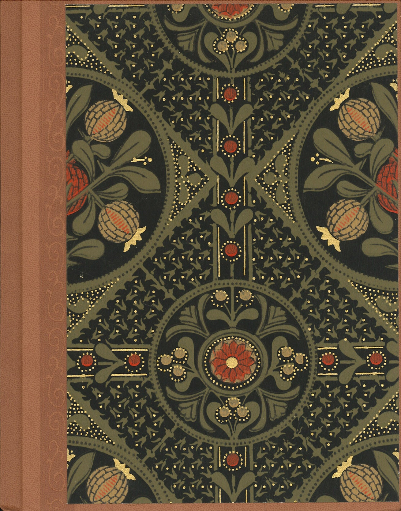 "Pomegranate Antique Wallpaper Journal - 7"" x 9"""