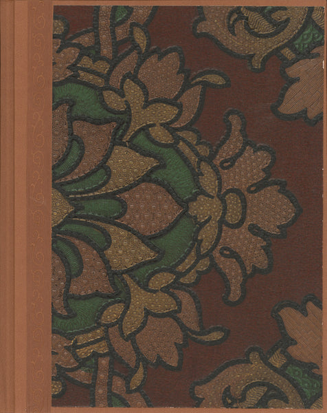 "Tooled Leather Antique Wallpaper Journal - 8.5"" x 11"""