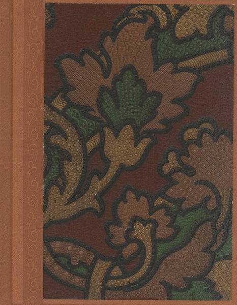 "Tooled ""Leather"" Antique Wallpaper Journal - 7"" x 9"""