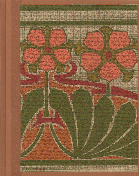 "Nouveau Floral Antique Wallpaper Journal - 8.5"" x 11"""