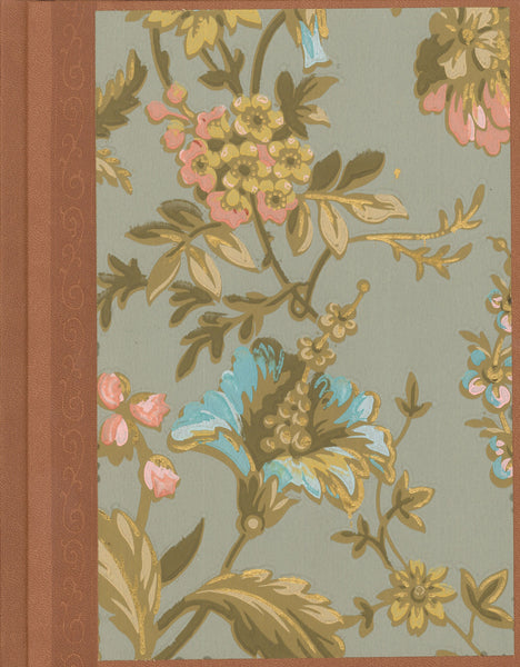 "Aesthetic-Era Antique Wallpaper Journal - 7"" x 9"""