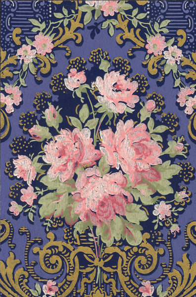 Empire Antique Wallpaper Accent Panel