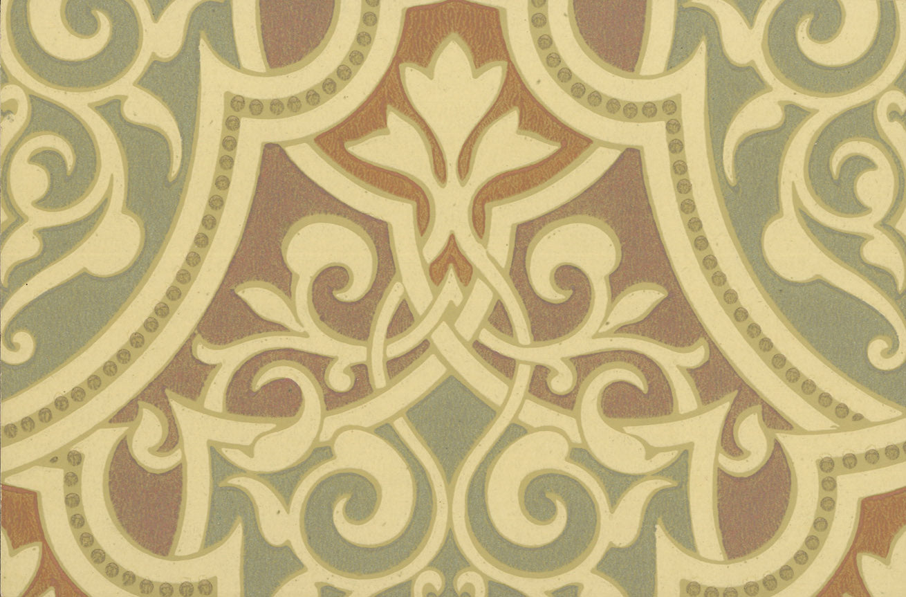 Moorish Piscine Antique Wallpaper Accent Panel